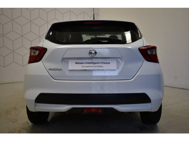 Nissan Micra 2017 1.0 - 71 Visia Pack Blanc occasion à Limoges - photo n°10