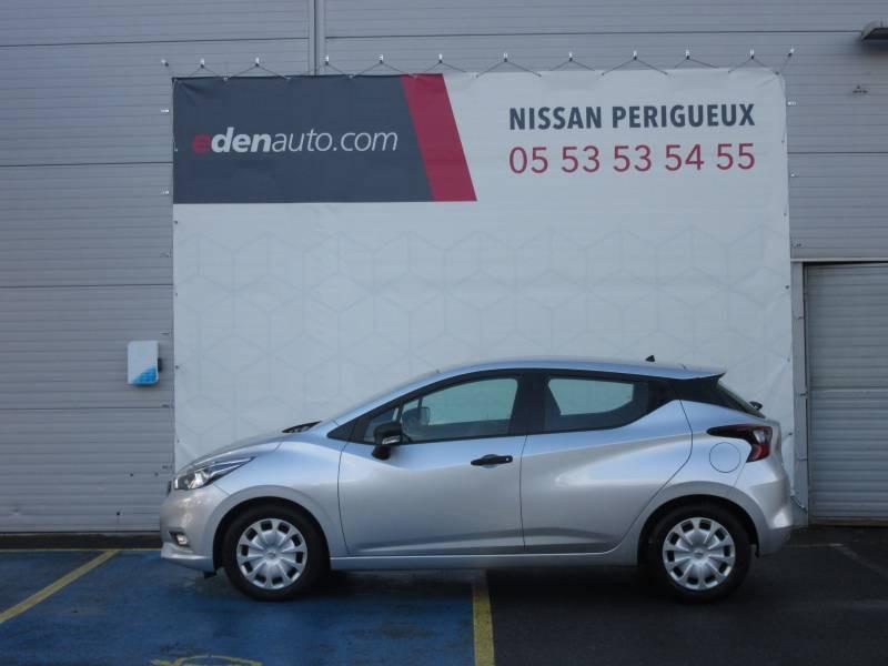 Nissan Micra 2017 1.0 - 71 Visia Pack Gris occasion à Périgueux - photo n°2