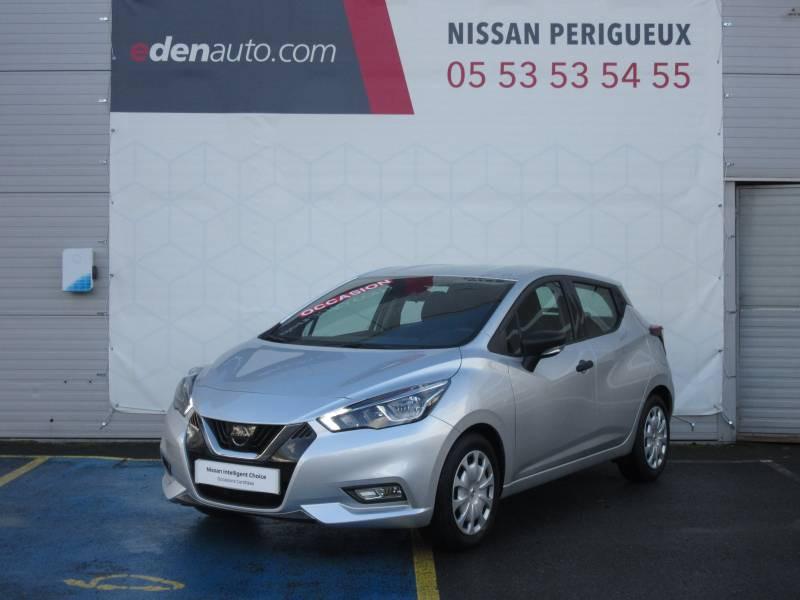 Nissan Micra 2017 1.0 - 71 Visia Pack Gris occasion à Périgueux