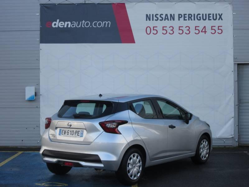 Nissan Micra 2017 1.0 - 71 Visia Pack Gris occasion à Périgueux - photo n°5
