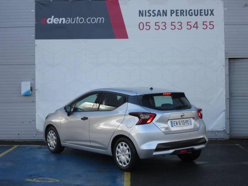 Nissan Micra 2017 1.0 - 71 Visia Pack Gris occasion à Périgueux - photo n°3