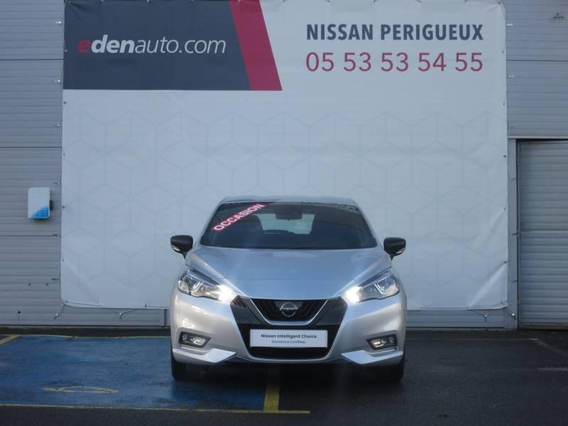 Nissan Micra 2017 1.0 - 71 Visia Pack Gris occasion à Périgueux - photo n°8