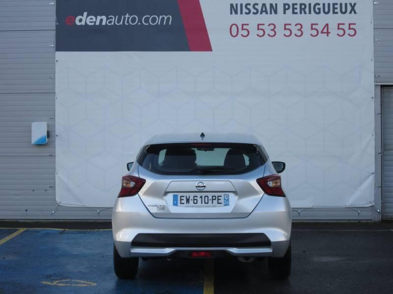 Nissan Micra 2017 1.0 - 71 Visia Pack Gris occasion à Périgueux - photo n°4