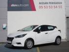 Nissan Micra 2017 1.0 - 71 Visia Pack Blanc à Périgueux 24