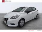 Nissan Micra 2017 1.0 - 71 Visia Pack Blanc à SAINT-BRIEUC 22
