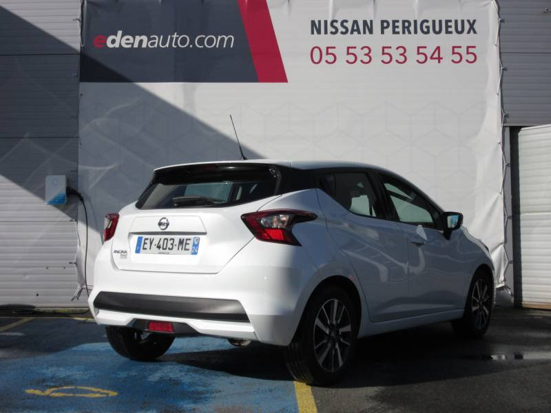 Nissan Micra 2017 IG-T 90 Made in France Blanc occasion à Périgueux - photo n°5