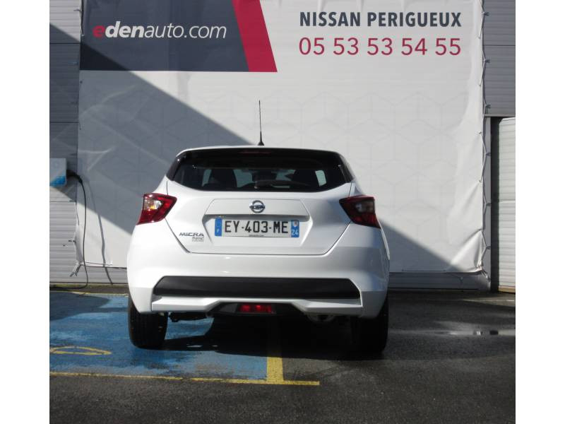 Nissan Micra 2017 IG-T 90 Made in France Blanc occasion à Périgueux - photo n°4