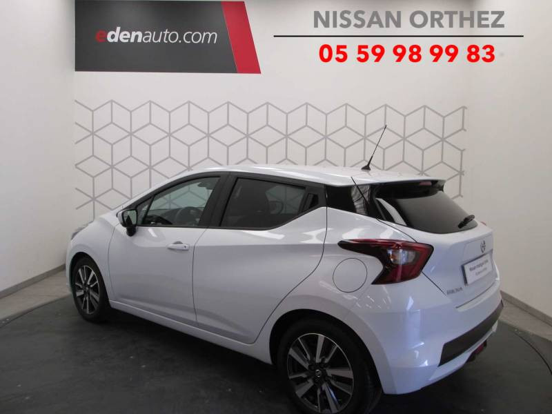 Nissan Micra 2017 IG-T 90 N-Connecta Blanc occasion à Orthez - photo n°9