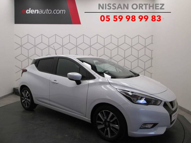 Nissan Micra 2017 IG-T 90 N-Connecta Blanc occasion à Orthez - photo n°8