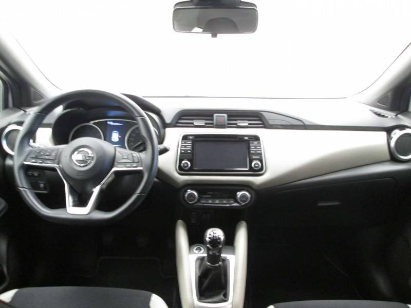 Nissan Micra 2017 IG-T 90 N-Connecta Blanc occasion à Orthez - photo n°4