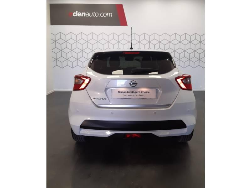 Nissan Micra 2017 IG-T 90 Tekna Blanc occasion à Bergerac - photo n°13