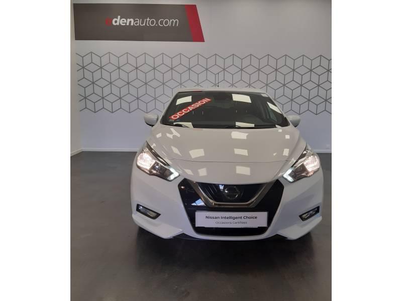 Nissan Micra 2017 IG-T 90 Tekna Blanc occasion à Bergerac - photo n°5
