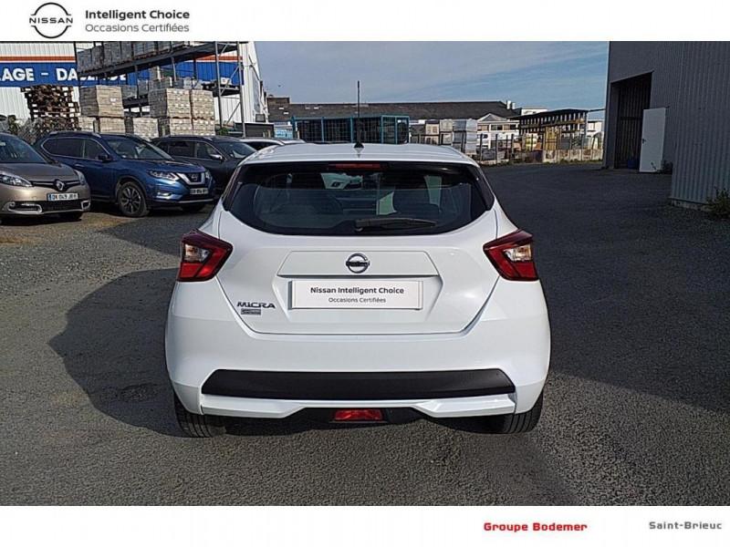 Nissan Micra 2018 dCi 90 Acenta Blanc occasion à SAINT-BRIEUC - photo n°13
