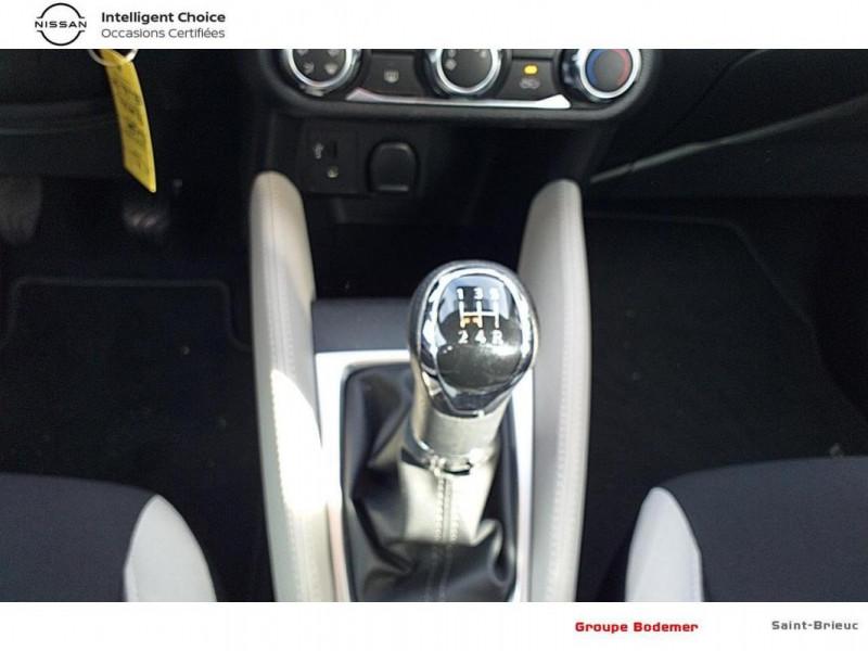 Nissan Micra 2018 dCi 90 Acenta Blanc occasion à SAINT-BRIEUC - photo n°10