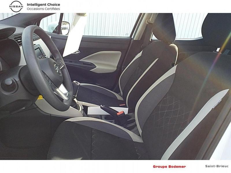 Nissan Micra 2018 dCi 90 Acenta Blanc occasion à SAINT-BRIEUC - photo n°11