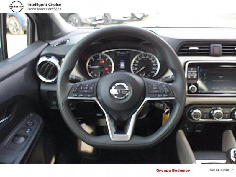 Nissan Micra 2018 dCi 90 Acenta Blanc occasion à SAINT-BRIEUC - photo n°7