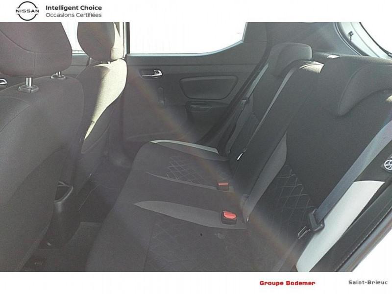 Nissan Micra 2018 dCi 90 Acenta Blanc occasion à SAINT-BRIEUC - photo n°12