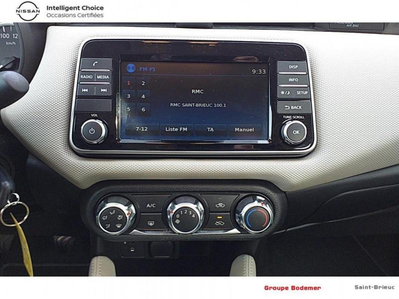 Nissan Micra 2018 dCi 90 Acenta Blanc occasion à SAINT-BRIEUC - photo n°8