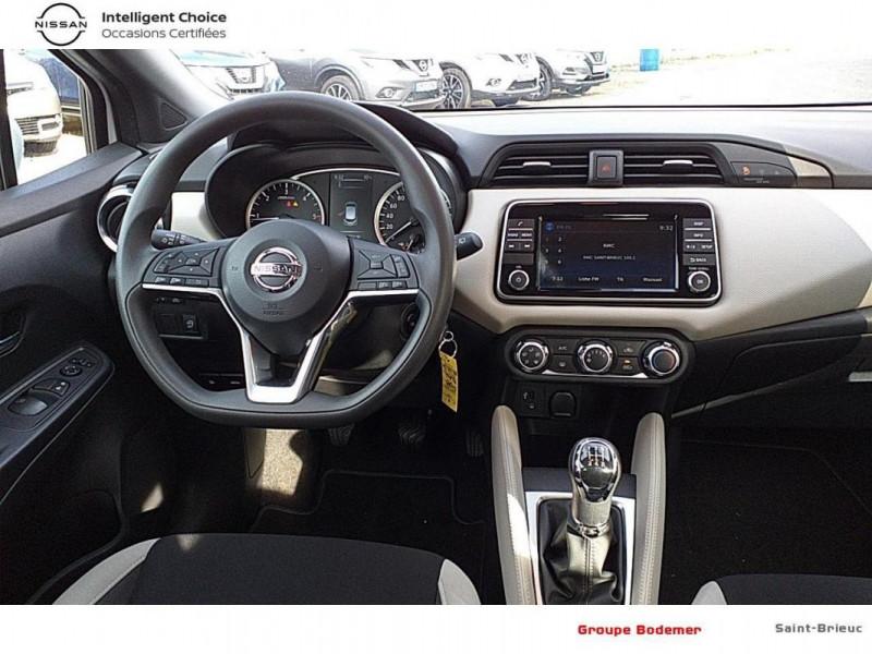 Nissan Micra 2018 dCi 90 Acenta Blanc occasion à SAINT-BRIEUC - photo n°6