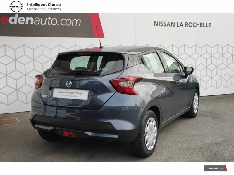 Nissan Micra 2018 IG 71 Visia Pack Gris occasion à Angoulins - photo n°17