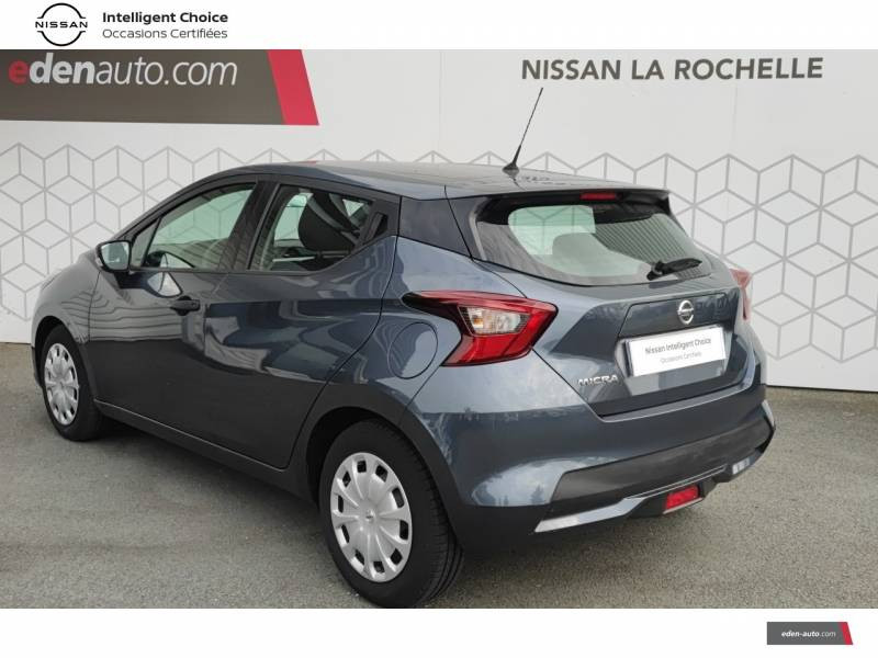 Nissan Micra 2018 IG 71 Visia Pack Gris occasion à Angoulins - photo n°7