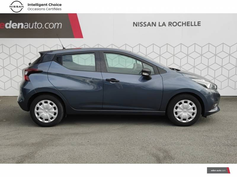 Nissan Micra 2018 IG 71 Visia Pack Gris occasion à Angoulins - photo n°8
