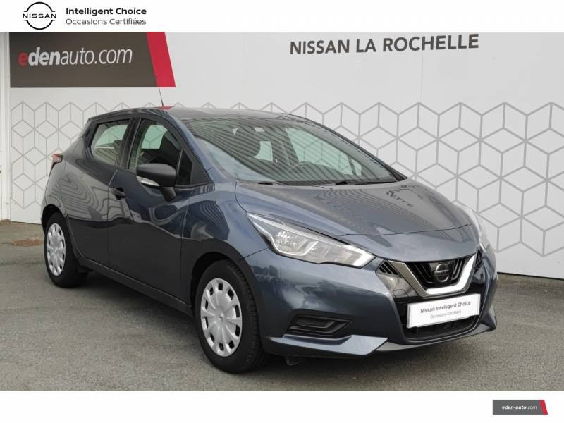 Nissan Micra 2018 IG 71 Visia Pack Gris occasion à Angoulins - photo n°16