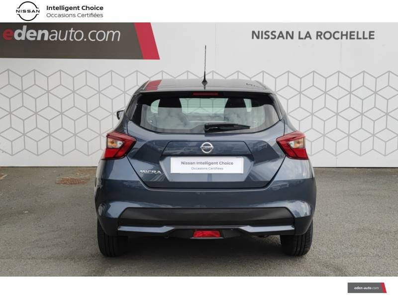 Nissan Micra 2018 IG 71 Visia Pack Gris occasion à Angoulins - photo n°4