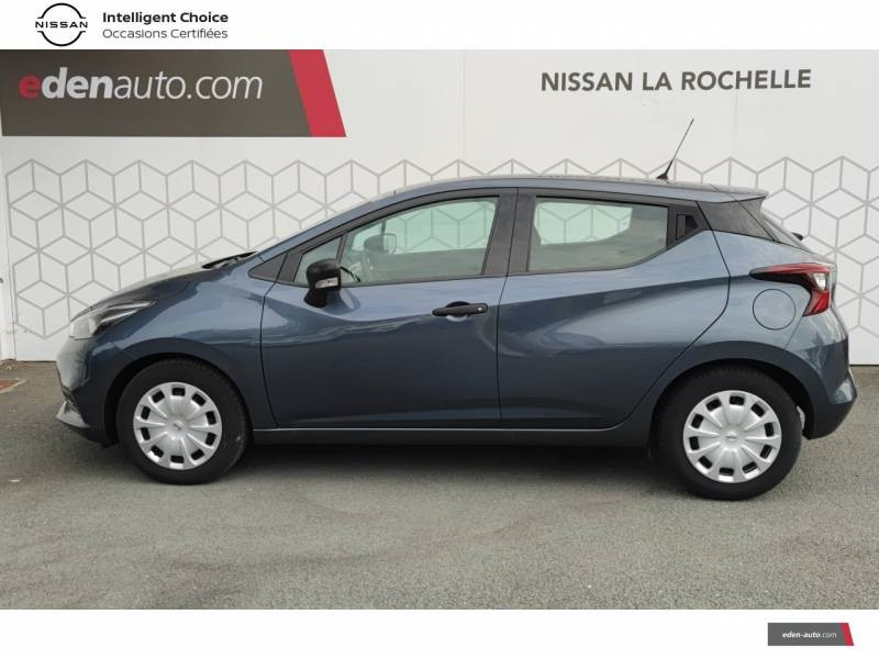 Nissan Micra 2018 IG 71 Visia Pack Gris occasion à Angoulins - photo n°3