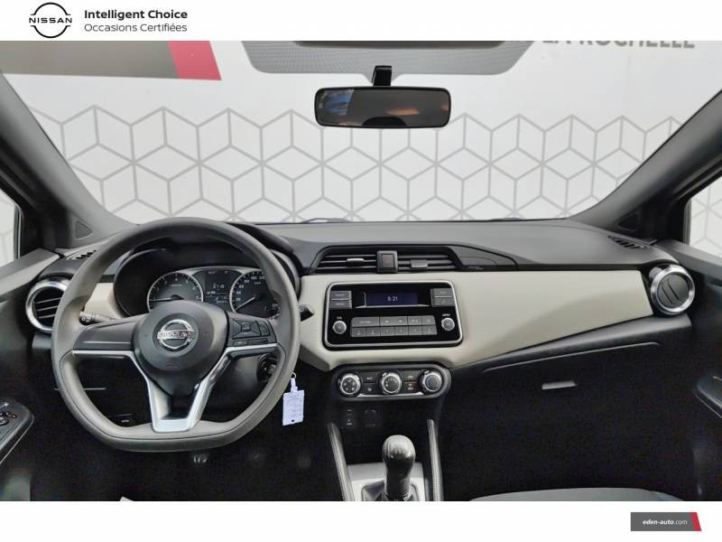 Nissan Micra 2018 IG 71 Visia Pack Gris occasion à Angoulins - photo n°9