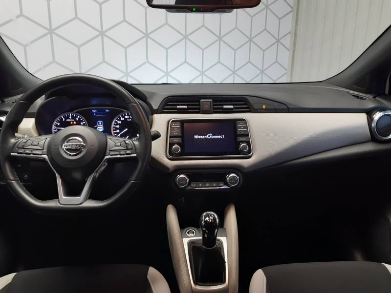 Nissan Micra 2018 IG-T 90 N-Connecta Blanc occasion à Tarbes - photo n°10