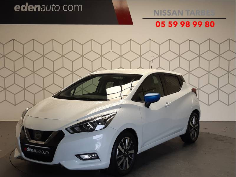 Nissan Micra 2018 IG-T 90 N-Connecta Blanc occasion à Tarbes