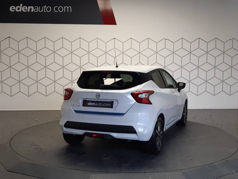 Nissan Micra 2018 IG-T 90 N-Connecta Blanc occasion à Tarbes - photo n°4