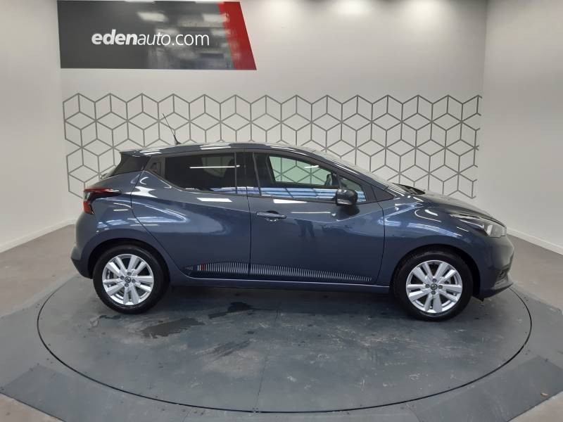 Nissan Micra 2019 EVAPO IG-T 100 Made in France Gris occasion à Orthez - photo n°3