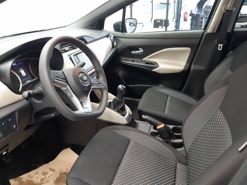 Nissan Micra 2019 EVAPO IG-T 100 Made in France Gris occasion à Orthez - photo n°5