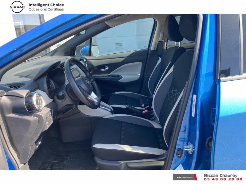 Nissan Micra 2019 EVAPO IG-T 100 Xtronic N-Connecta Bleu occasion à Chauray - photo n°15