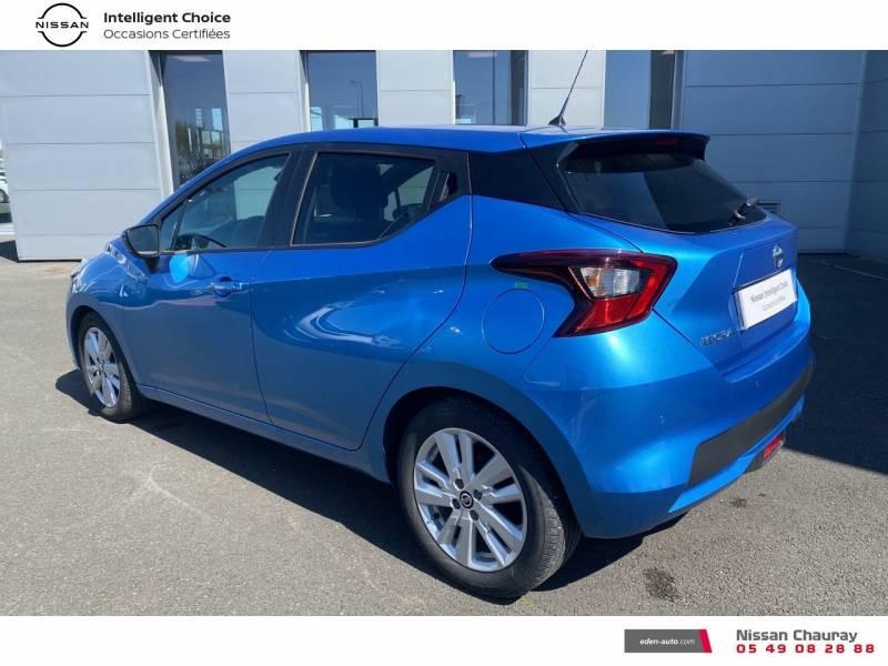 Nissan Micra 2019 EVAPO IG-T 100 Xtronic N-Connecta Bleu occasion à Chauray - photo n°7