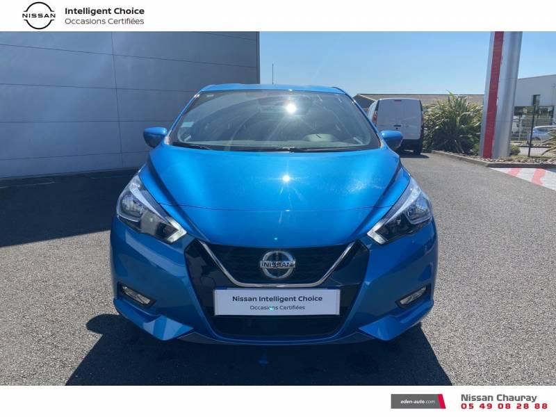 Nissan Micra 2019 EVAPO IG-T 100 Xtronic N-Connecta Bleu occasion à Chauray - photo n°9