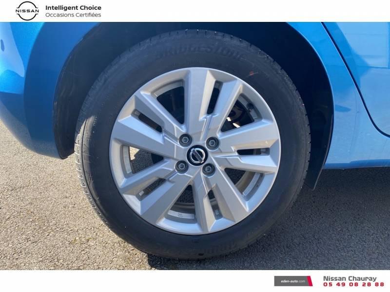 Nissan Micra 2019 EVAPO IG-T 100 Xtronic N-Connecta Bleu occasion à Chauray - photo n°3