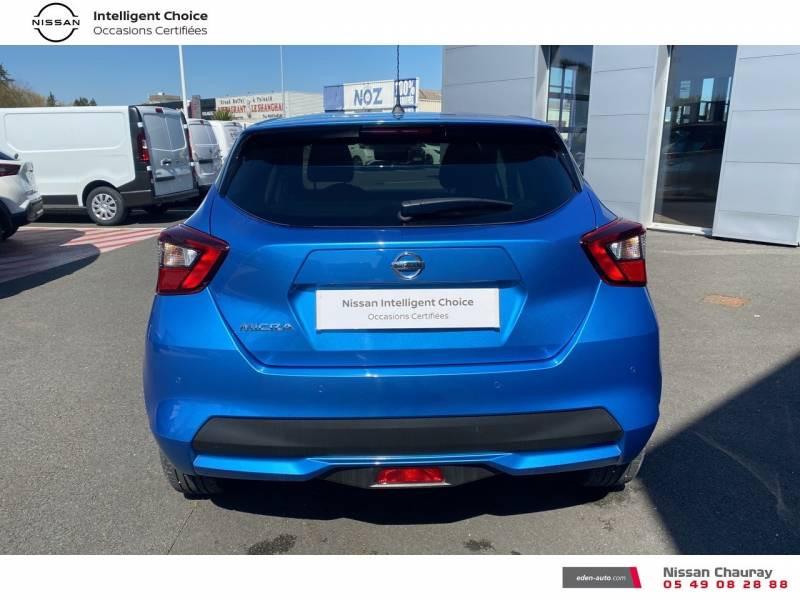 Nissan Micra 2019 EVAPO IG-T 100 Xtronic N-Connecta Bleu occasion à Chauray - photo n°17