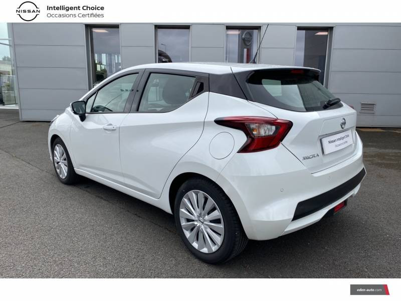 Nissan Micra 2020 IG-T 100 Business Edition Blanc occasion à Chauray - photo n°7