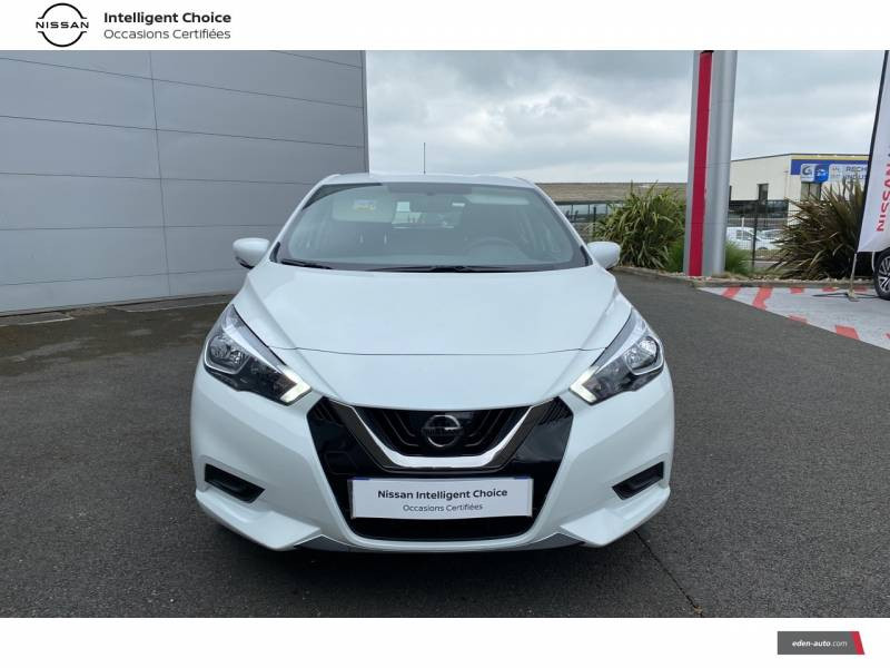 Nissan Micra 2020 IG-T 100 Business Edition Blanc occasion à Chauray - photo n°2