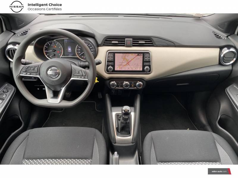 Nissan Micra 2020 IG-T 100 Business Edition Blanc occasion à Chauray - photo n°9