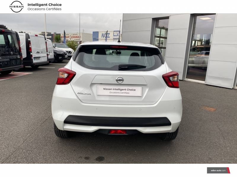 Nissan Micra 2020 IG-T 100 Business Edition Blanc occasion à Chauray - photo n°4