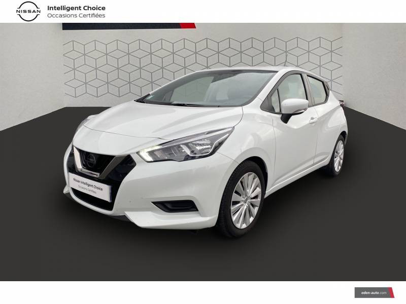 Nissan Micra 2020 IG-T 100 Business Edition Blanc occasion à Chauray