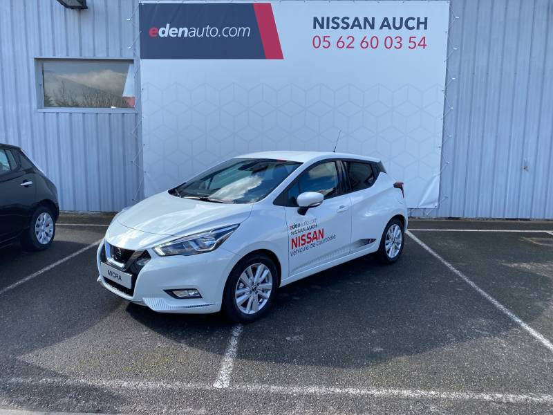 Nissan Micra 2020 IG-T 100 Made in France Blanc occasion à Auch