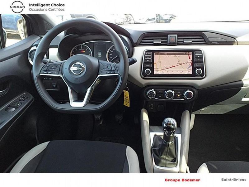 Nissan Micra BUSINESS 2019 dCi 90 Edition Gris occasion à SAINT-BRIEUC - photo n°6