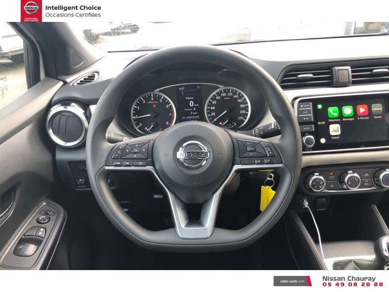 Nissan Micra BUSINESS 2019 EVAPO IG-T 100 Edition Blanc occasion à Chauray - photo n°10