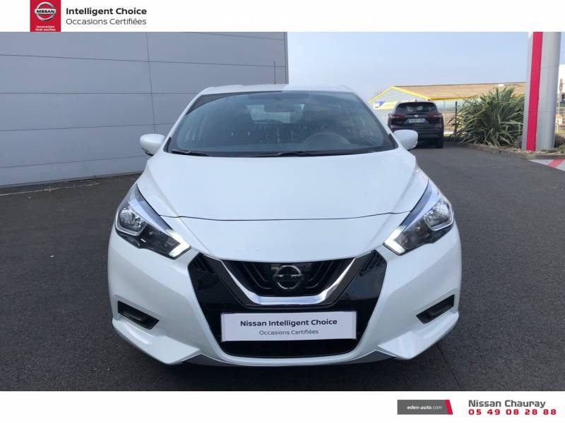 Nissan Micra BUSINESS 2019 EVAPO IG-T 100 Edition Blanc occasion à Chauray - photo n°2