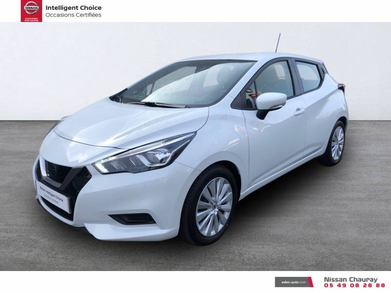 Nissan Micra BUSINESS 2019 EVAPO IG-T 100 Edition Blanc occasion à Chauray